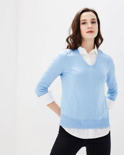 Голубой пуловер United Colors Of Benetton