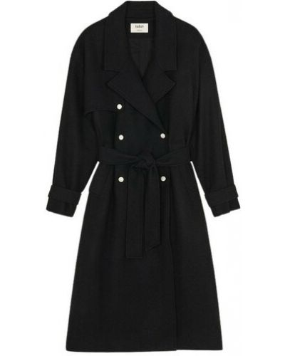 Czarny płaszcz Ba&sh