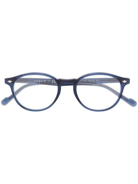 Oprawka do okularów okrągły khaki za pełne Vogue