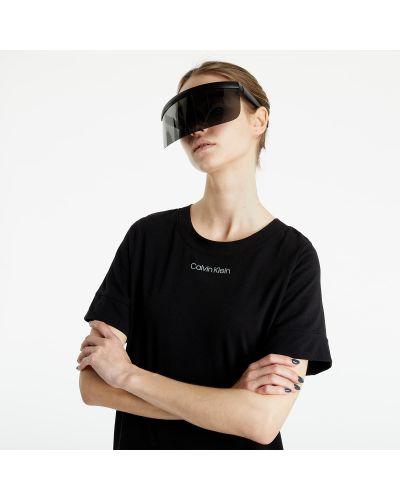 Czarna koszula nocna Calvin Klein
