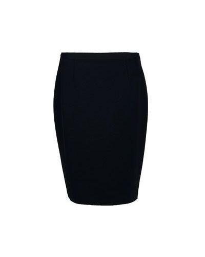 Черная юбка из вискозы Luisa Spagnoli