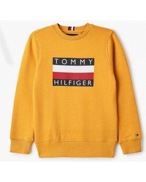 Свитшот желтый Tommy Hilfiger