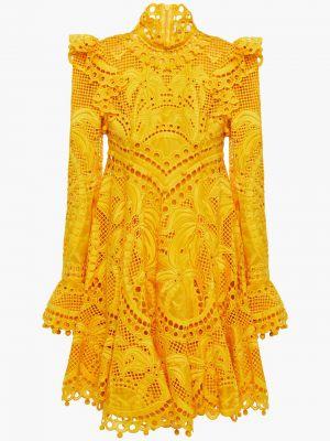 Шелковое платье мини Zimmermann