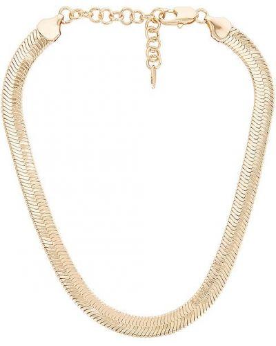 Złoty naszyjnik łańcuch pozłacany na co dzień Ettika