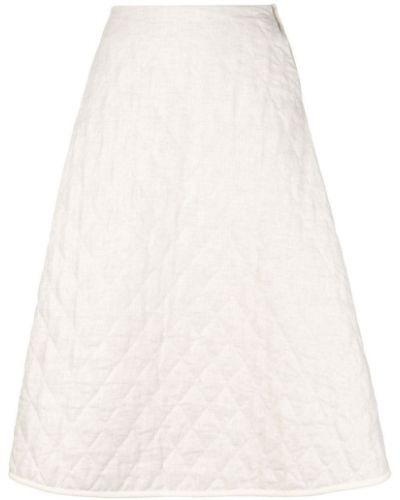 Расклешенная юбка миди в рубчик école De Curiosités