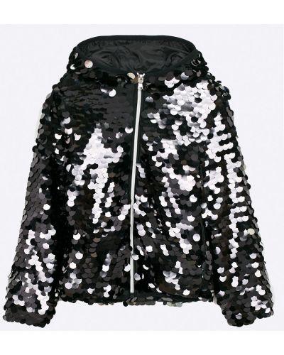 Куртка с пайетками черная Guess Jeans