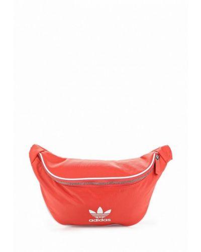 Красная поясная сумка Adidas Originals