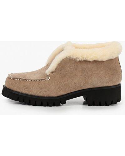 Бежевые ботинки Mascotte