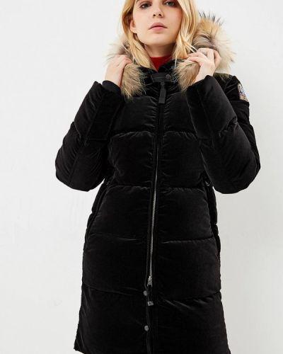 Зимняя куртка черная осенняя Parajumpers