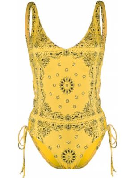 Желтый купальник Sian Swimwear