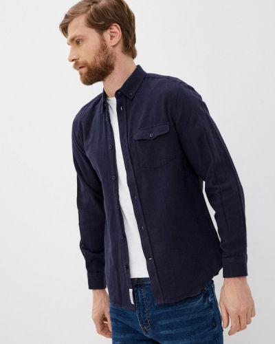 Синяя с рукавами рубашка Nordam