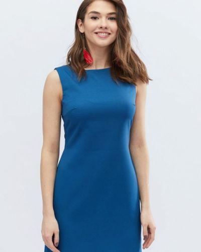 Платье весеннее синее Carica&x-woyz