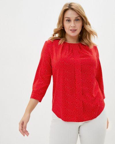 Красная блузка с длинным рукавом с длинными рукавами Mankato