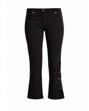 Черные брюки прямые Tricot Chic