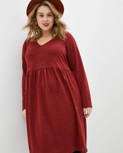 Повседневное красное платье Evans