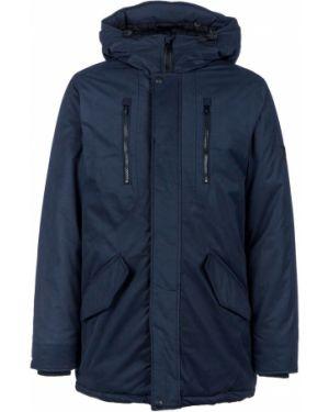 Куртка с капюшоном синяя Blend
