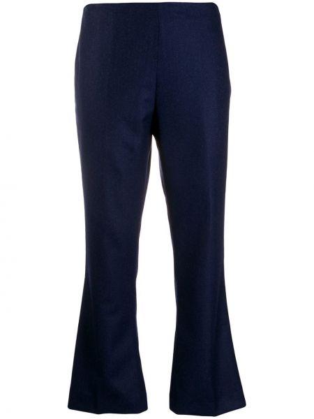 Расклешенные укороченные брюки с поясом Berwich