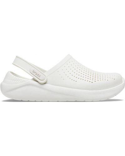 Białe chodaki Crocs