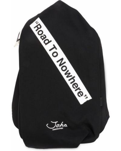Черный рюкзак Johnundercover