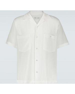 Облегченная рубашка с воротником с заплатками на пуговицах Cmmn Swdn