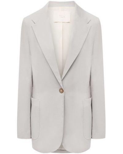 Пиджак на подкладке - серый Tela