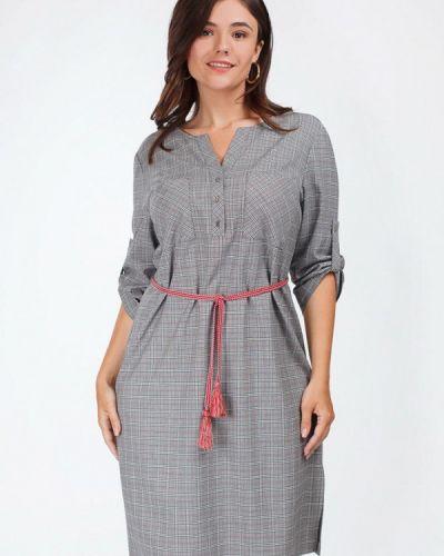 Платье миди - серое Bonne Femme