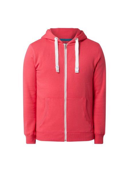 Bluza rozpinana z kapturem - różowa Mcneal