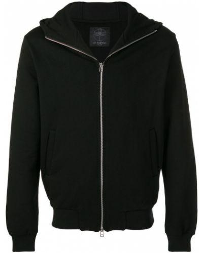 Куртка с капюшоном черная на молнии Les Bohemiens