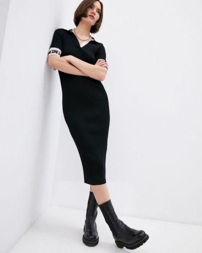 Повседневное черное платье Iceberg