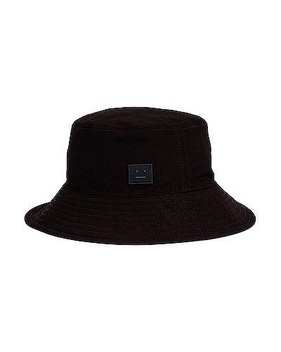 Джинсовая шапка - черная Acne Studios