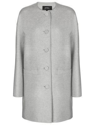 Серое кашемировое пальто Marc Jacobs