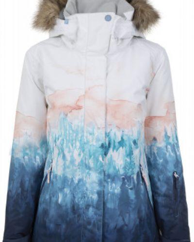 Куртка с капюшоном спортивная водонепроницаемая Roxy