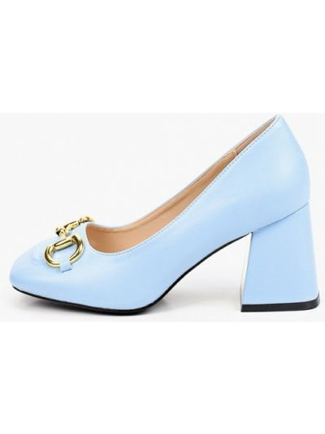 Голубые демисезонные туфли Vivian Royal