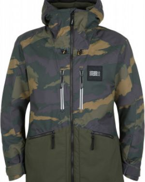 Куртка горнолыжная с капюшоном - зеленая O`neill