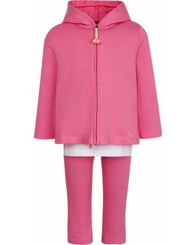 Костюмный розовый спортивный костюм Il Gufo