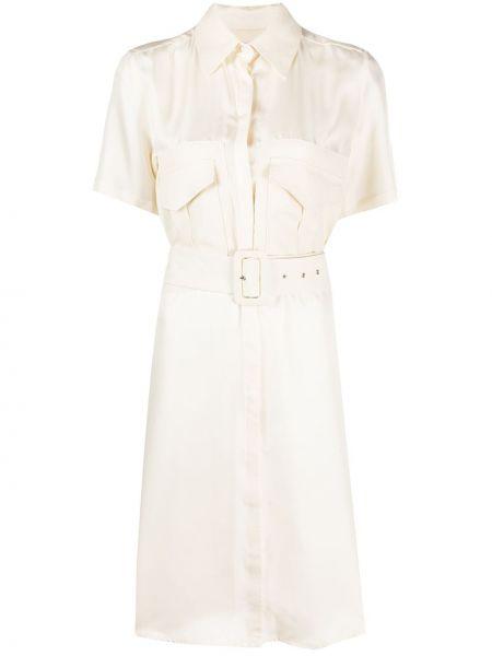 Платье с поясом на пуговицах платье-рубашка Victoria, Victoria Beckham