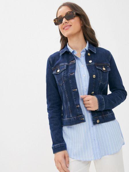 Синяя джинсовая куртка Tommy Hilfiger