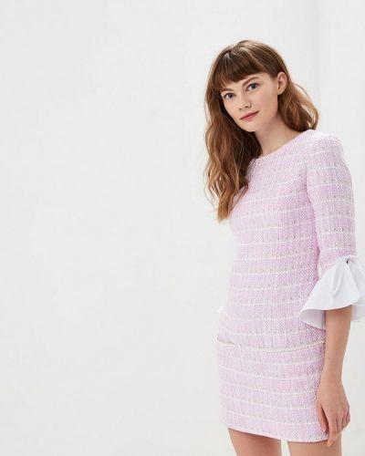 Платье розовое весеннее Gepur