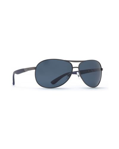 Солнцезащитные очки металлические - серые Invu
