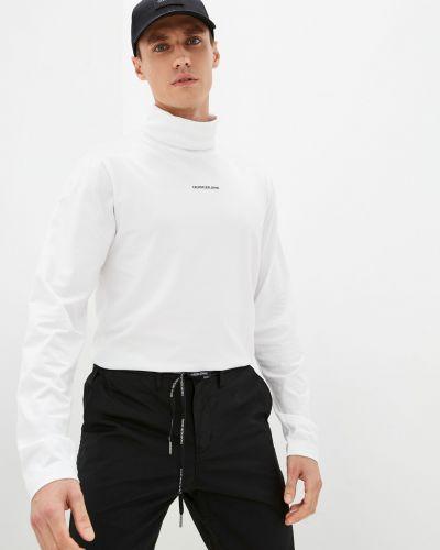Хлопковая водолазка - белая Calvin Klein Jeans