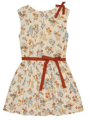Sukienka stopiony z kwiatowym nadrukiem Caramel