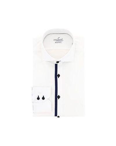 Белая повседневная рубашка Van Laack