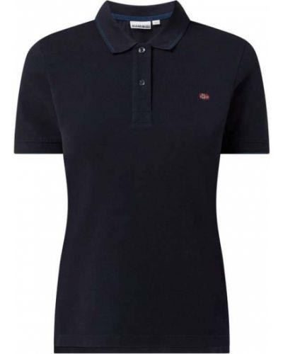 T-shirt bawełniana - niebieska Napapijri