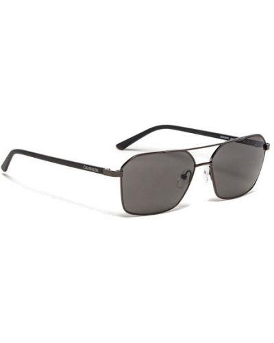 Czarne okulary Calvin Klein