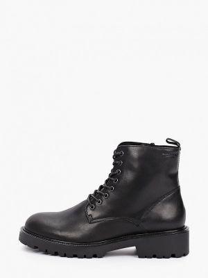 Кожаные ботинки - черные Vagabond