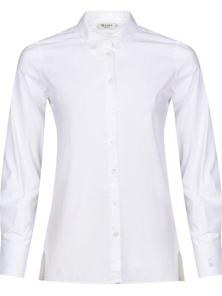 Хлопковая белая рубашка Maerz