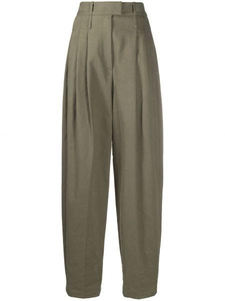Зауженные зеленые зауженные брюки свободного кроя с карманами Jejia
