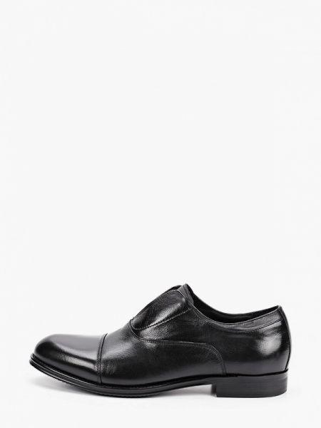 Кожаные черные туфли Marco Lippi