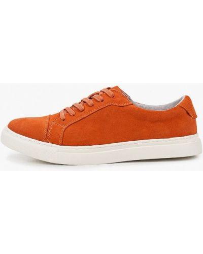 Оранжевые низкие кеды O-live Naturalle