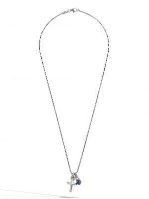 Брендовое серебряное ожерелье John Hardy